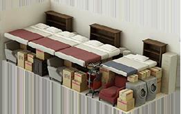 10 x 30 Storage Unit  sc 1 st  Cross Creek Self Storage & Storage Size Guide - Cross Creek Self Storage